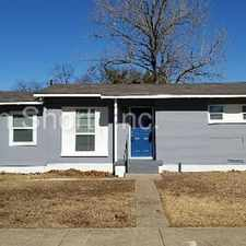 Rental info for 3 Bedroom, 2 Bath Brick Home in Garland in the Dallas area