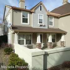 Rental info for 1672 Spring Hill Dr in the Reno area