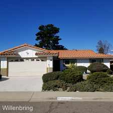 Rental info for 16566 Felice Dr. in the San Diego area