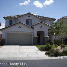 Rental info for 10815 SILVER LACE LN. in the Las Vegas area