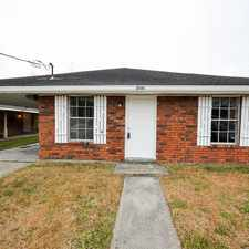 Rental info for 2729 Dawson Street in the Kenner area