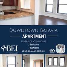 Rental info for 4 1/2 W. Wilson St. Apt C-4 in the Batavia area
