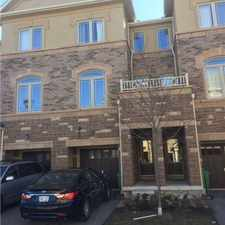 Rental info for 6625 Falconer Drive #32 in the Brampton area
