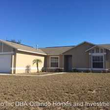 Rental info for 11640 Roper Blvd in the Clermont area