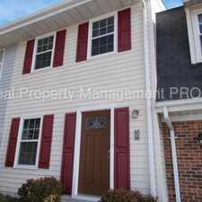 Rental info for Well Kept/Recently Updated TH Convenient to Old Town Shopping/Dining