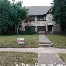 Rental info for 218 E. Rosewood Ave in the San Antonio area