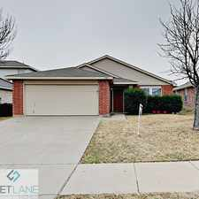 Rental info for 3917 Fox Run Drive, Fort Worth, TX, 76123 in the Fort Worth area