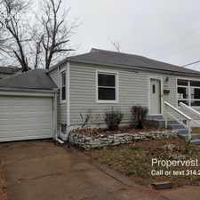 Rental info for 5521 Sunbury Ave. in the St. Louis area