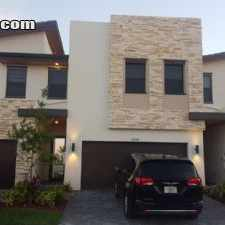 Rental info for $3900 4 bedroom Townhouse in Doral in the Hialeah area
