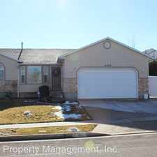 Rental info for 4923 W Chilly Peak Drive in the Riverton area