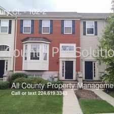 Rental info for 765 Thornbury Ct.