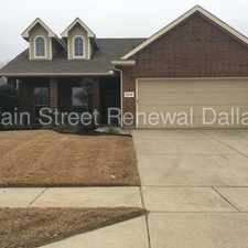 Rental info for 2216 Priscella Drive in the Fort Worth area