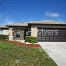 Rental info for 2237 Tropicana Parkway West Cape Coral FL 33993