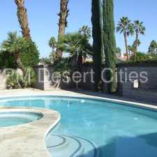 Rental info for VERY PRIVATE SPACIOUS HOME IN RANCHO VILLAGE