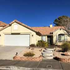Rental info for Tricon American Homes in the Green Valley South area