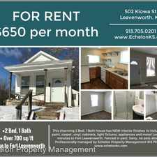 Rental info for 502 Kiowa St