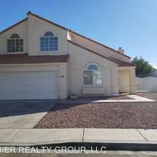 Rental info for 1125 Frost Flower Dr in the North Las Vegas area