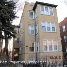 Rental info for 4910 N. Spaulding Ave unit 2W in the Chicago area