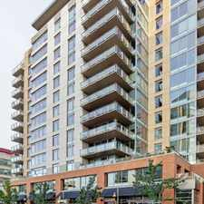 Rental info for LIVE 2200 & Pan Pacific Hotel- Arte - 1 bedroom + den in the Seattle area