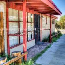 Rental info for Fenced one bedroom only 1.5 miles from campus! in the Tucson area
