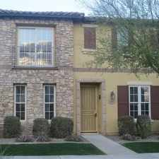 Rental info for Large 3 Bed 2.5 Bath Den In Vistancia! in the Glendale area