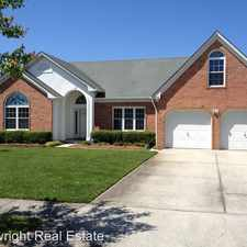 Rental info for 3216 Fayette Drive in the Virginia Beach area