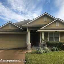 Rental info for 3925 Springmist in the College Station area