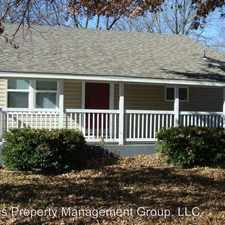 Rental info for 1129 N Fullbright in the Springfield area