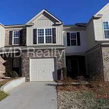 Rental info for Great South Park Location in the Charlotte area