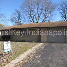 Rental info for 9924 E. Stardust Drive in the Indianapolis area