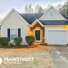 Rental info for 3749 Mays Crossing Southwest in the Atlanta area