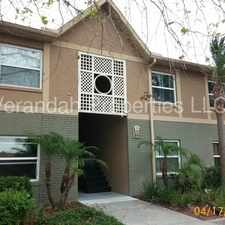 Rental info for Delightful 2/2 Condo With Water Included in Hawthorne Village - Orlando in the Orlando area