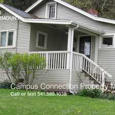Rental info for 2242 E 15th in the Eugene area
