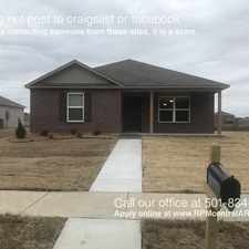 Rental info for 6517 Ridgemist Ln in the Little Rock area
