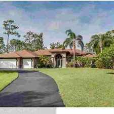 Rental info for 5887 NW 66TH Wy Parkland Five BR, Estate Home with Stunning Curb