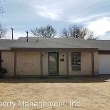 Rental info for 5315 48th Street in the Lubbock area