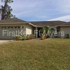 Rental info for Beautiful Southwest Florida Home
