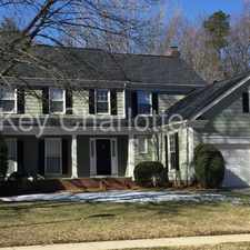 Rental info for 3506 Brownes Ferry Road Charlotte NC 28269 in the Huntersville area