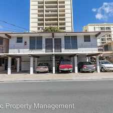 Rental info for 2202 Fern St. Apt. D in the Honolulu area