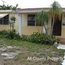 Rental info for 426 Macy in the West Palm Beach area