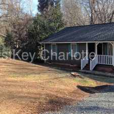 Rental info for 5719 Indian Brook Drive Matthews NC 28104 in the Charlotte area