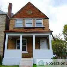 Rental info for Section 8 -- 4 Bedroom House For Rent -- Immediate Move Ins Welcome in the St. Louis area