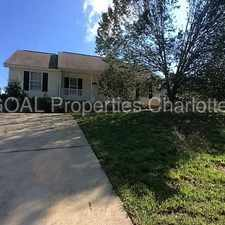 Rental info for Cozy 3 Bed, 2 Ba. Ranch in the Charlotte area
