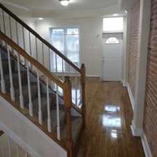 Rental info for Three Bedroom In Baltimore City in the Broadway East area