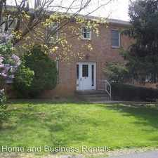 Rental info for 122 Jackson Place in the Martinsburg area