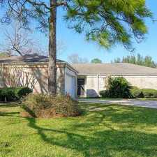 Rental info for 14210 Overbrook Lane in the Houston area