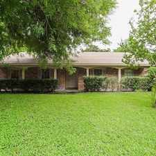 Rental info for 10938 Ensbrook Drive in the Houston area