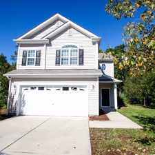 Rental info for 313 Burrell Road in the Durham area