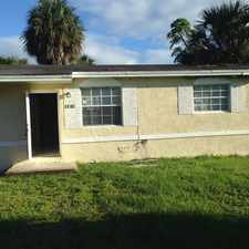 Rental info for Great House, quiet street, large lot, in St. George community in the Fort Lauderdale area