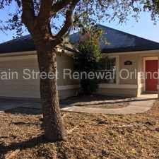 Rental info for Contemporary 4/2 with Screened Porch and family Room in Jacksonville FL in the Jacksonville North Estates area